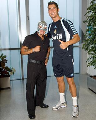 Rey Misterio and Cristiano Ronaldo | E~X~C~L~U~S~I~V~E ...
