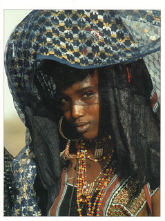 Niger African Girl Postcard | by crayolamom