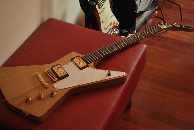 Orville by Gibson Korina Prototype Eric Clapton Cut Explor ...