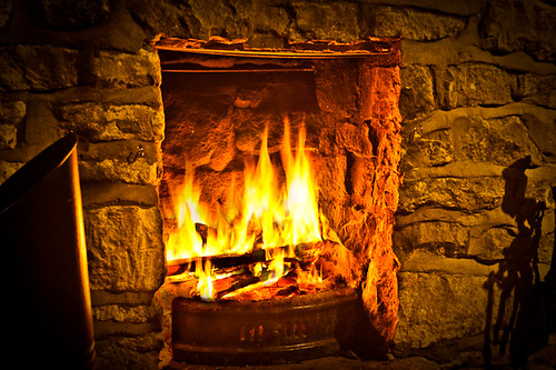 cosy times... | Fireplace in an old English cottage in Bices… | Flickr
