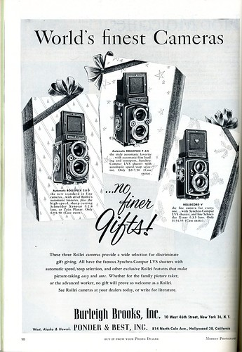 World's finest Cameras Rollei (1955) | by Nesster