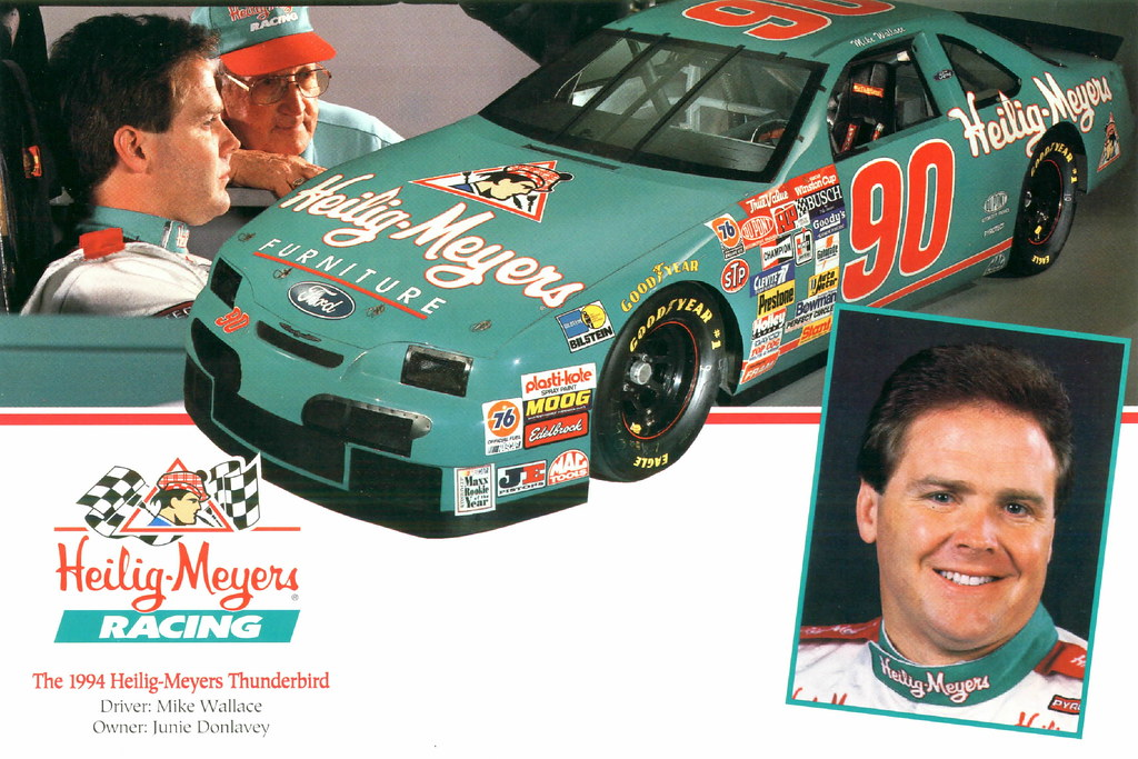 1994 Mike Wallace Heilig Meyers Furniture Ford Thunderbird Flickr