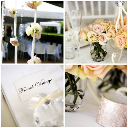 Vintage Wedding Decorations: French Vintage Wedding