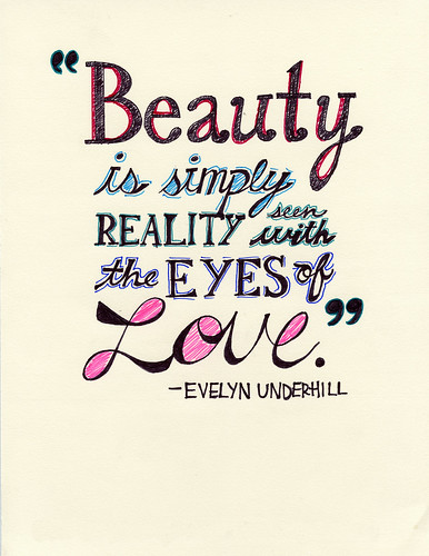 Beauty–in the eyes of love. | by Monica Galvan