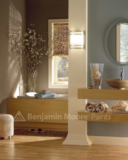 Spa Bathroom | by Benjamin Moore Colors