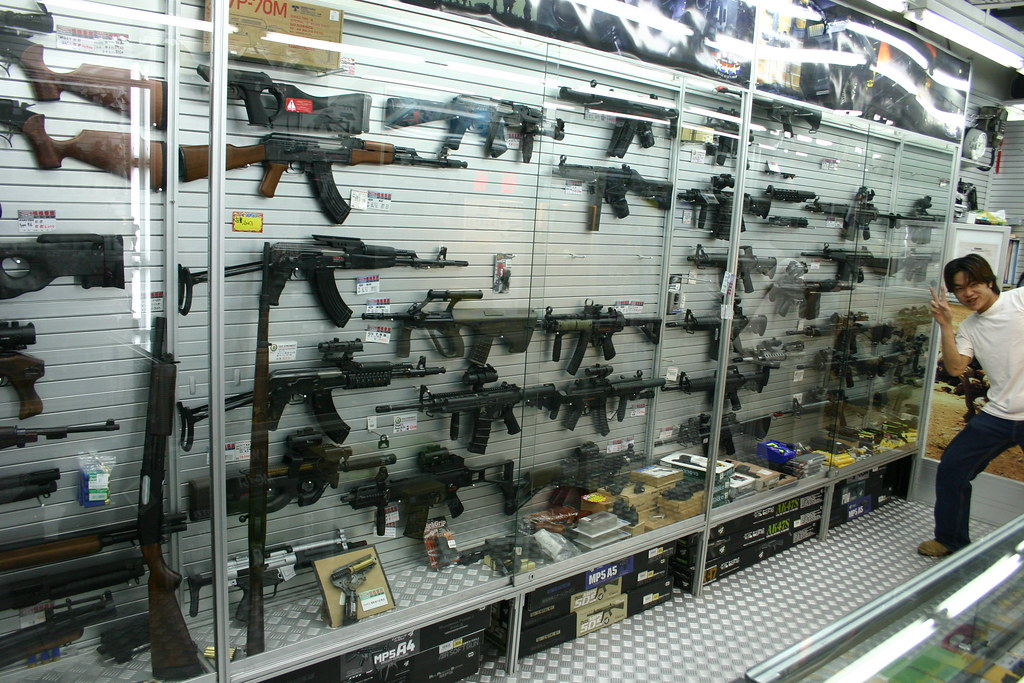 Airsoft guns shop in taipei taiwan airsoft guns shop in for Bb shop