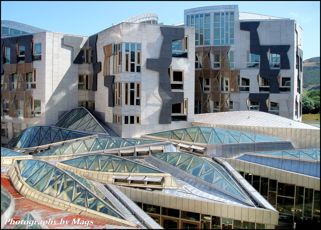 The Scottish Parliament Building By Mags Move Over Dysa