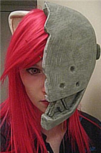 Elfen lied helmet lucy