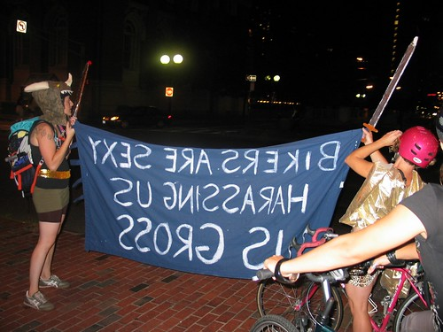 bike parade against street harassment 8/22 | by farm_on_wheels