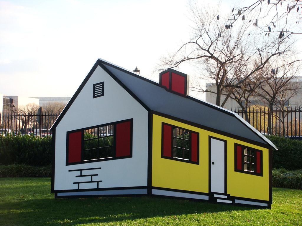National Gallery of Art Sculpture Garden: House 1 - Roy Li…   Flickr