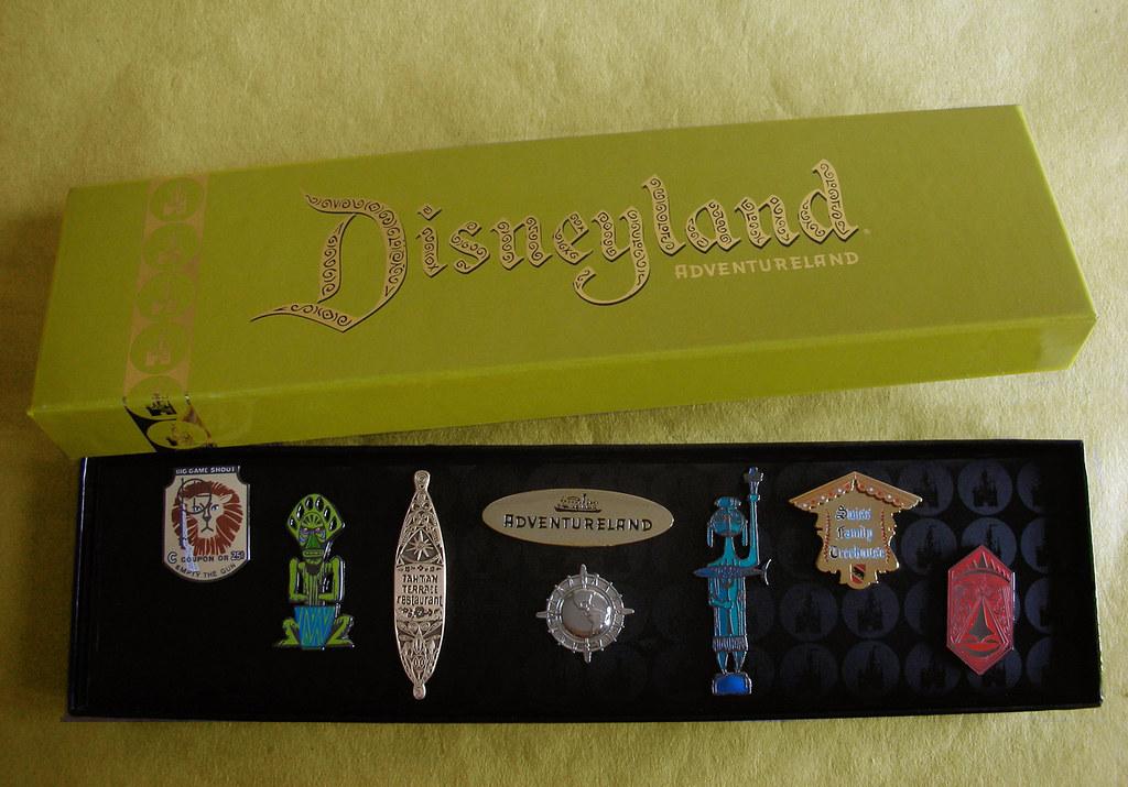 Disneyland 50th Anniversary Quot Adventureland Quot Pin Set Flickr