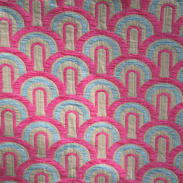Unused geometric 1940 39 s esque upholstery fabric for sale for Upholstery fabric for sale