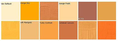 Orange Colors orange paint: designers' favorite colors | happy halloween! … | flickr