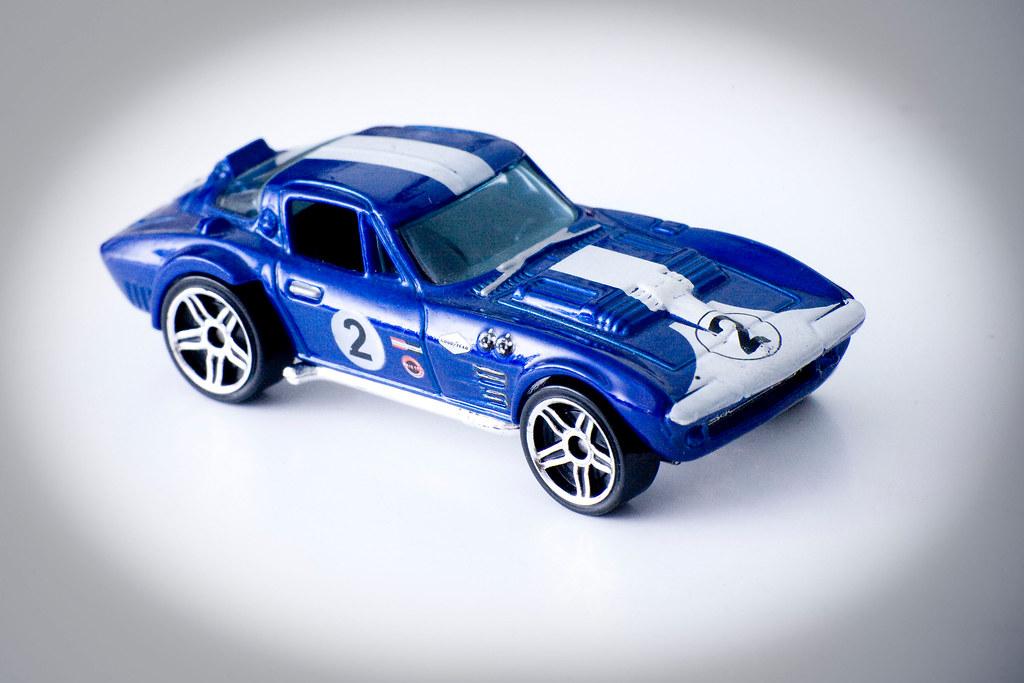 Corvette Grand Sport Tm Gm Mini Model Car Hotwheels