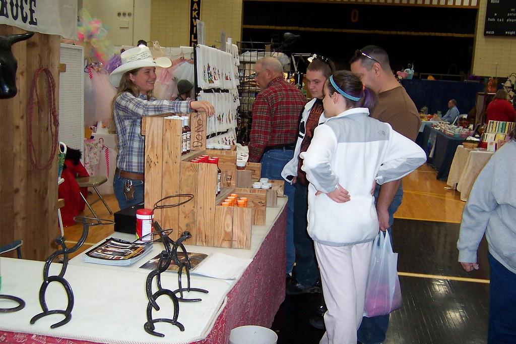 oakville high school craft show 12 5 09 meghaan laughs