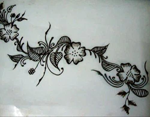 Floral Henna Design Tutorial By Rajeswari Mehendi Designer Chennai