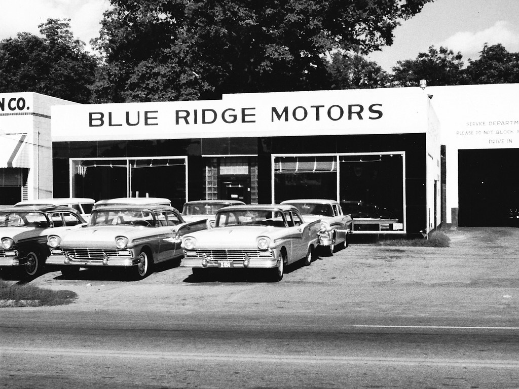 Blue Ridge Motors Ford Anderson Sc 1957 Bill Cook Flickr