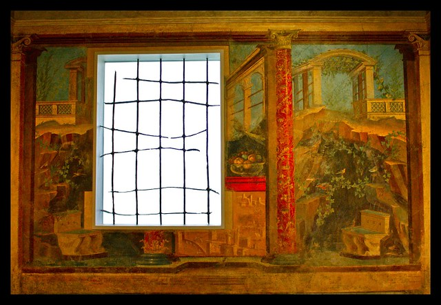 cubiculum bedroom from the villa of p fannius synistor flickr. Black Bedroom Furniture Sets. Home Design Ideas