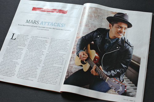 Bruno Mars - Forbes | by Roger Kisby