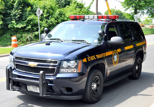 Picture Of Ny State Trooper Chevrolet Tahoe Surburban From