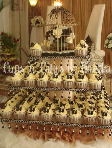 Black And White Design Cupcakes | Joy Studio Design Gallery - Best ...