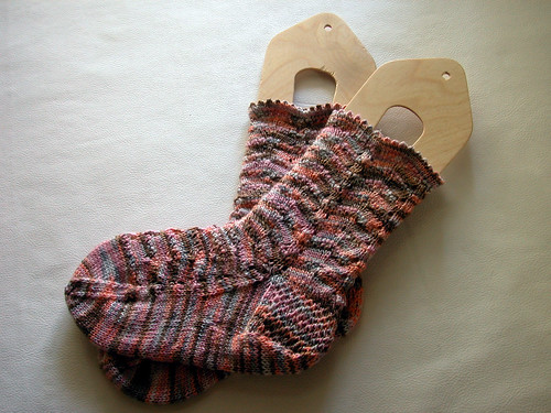 Pot Pourri Socks, Finished | by donnatakespictures