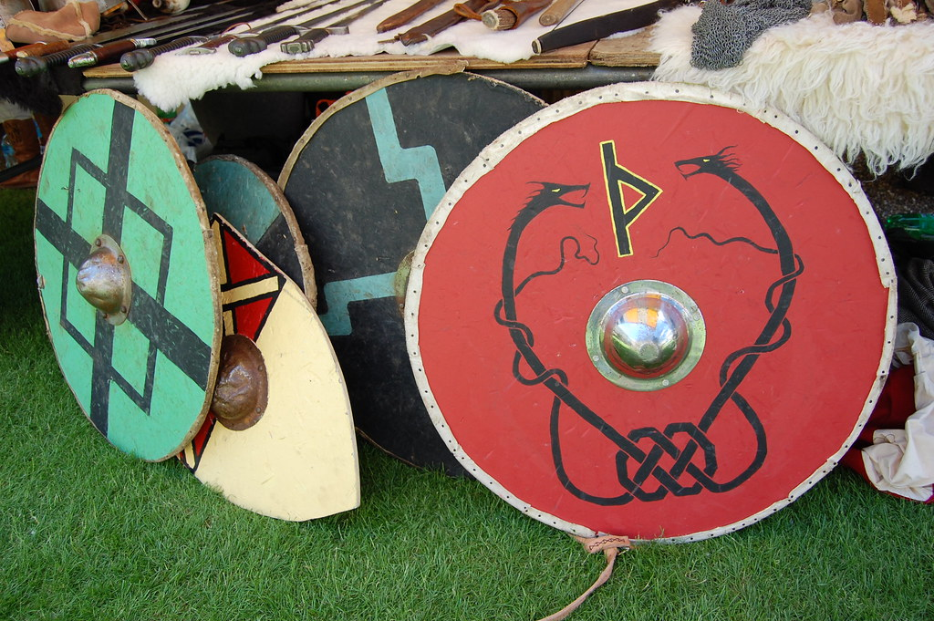 Anglo Saxon Shields Anglo Saxon Shields Waiting For
