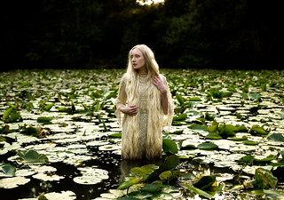 Wonderland : Lady of The Lake | by Kirsty Mitchell
