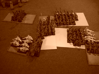 Flesh hound charge on daemon turn five will determine the game | by jon_a_ross