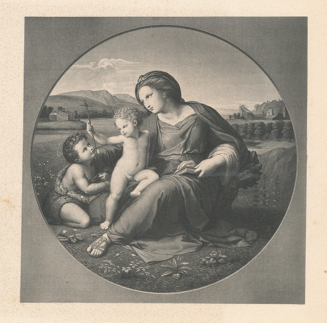 the alba madonna (c 1510) by raphael essay Raphael's alba madonna, painted circa 1510 and measuring 375 inches in diameter, is one of the most well known examples of biblical themed renaissance art.