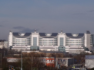 Birmingham Super Hospital as seen from Selly Oak | by ell brown