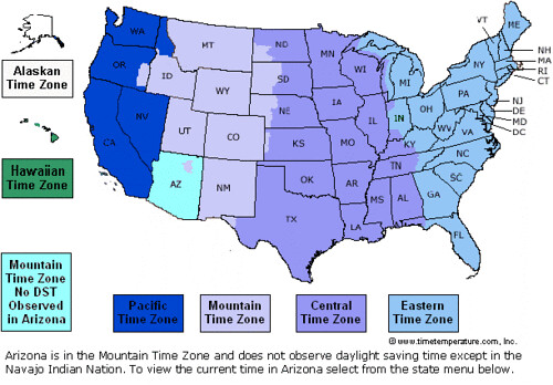 US Time Zones map | Mike Windsor | Flickr