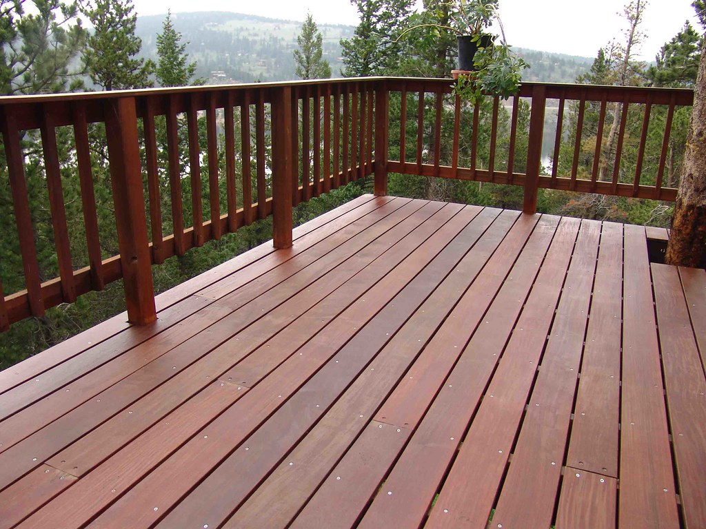 Ipe And Redwood Deck...over 10 Years Old