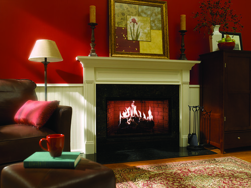 Heat&Glo_RoyalHearthFireplace_WoodSingleSided | by HeatandGlo