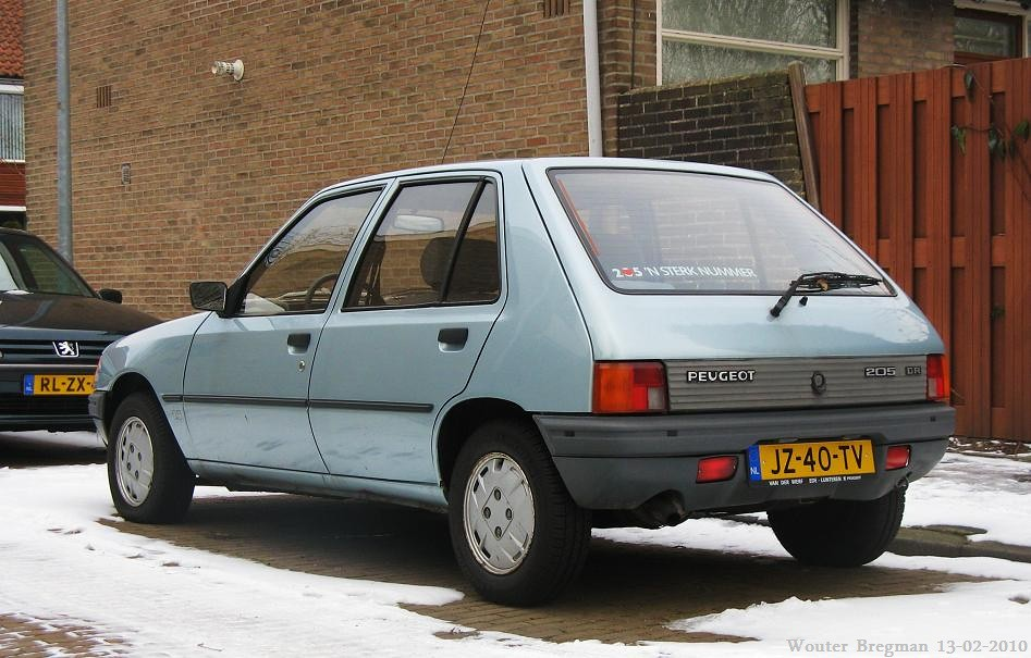 Peugeot 205 Gr 1983