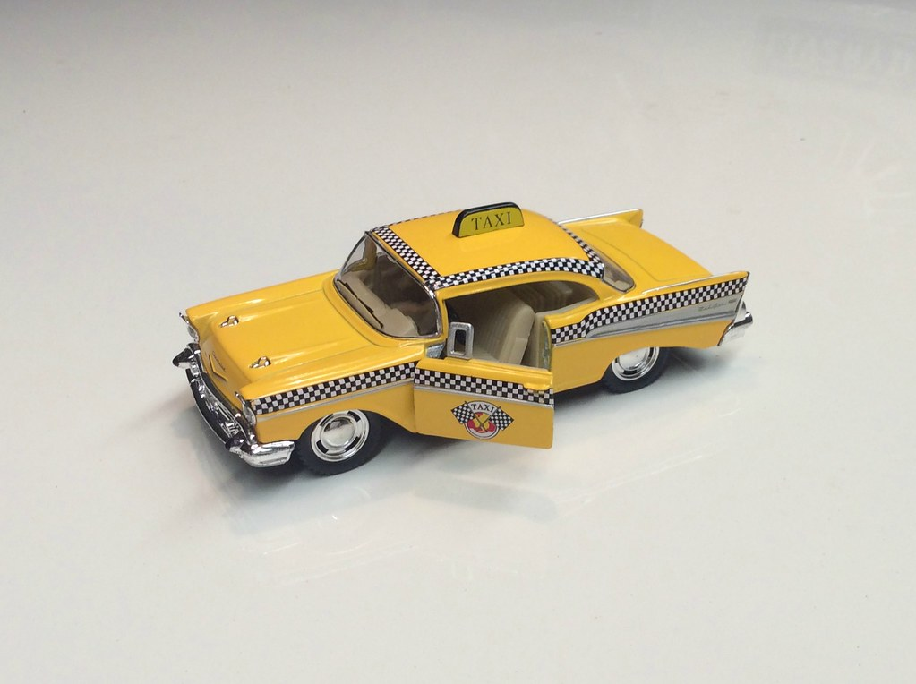 Kinsmart 1957 Chevrolet Bel Air 140 Scale Bob The Real Deal