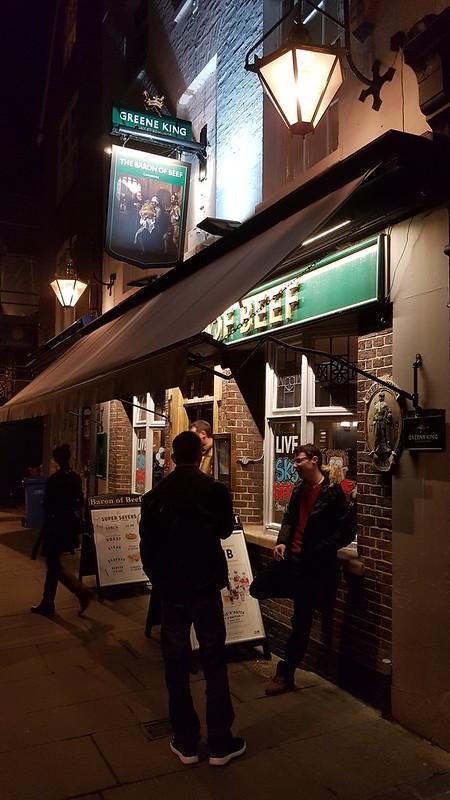 The Baron of Beef, Cambridge UK