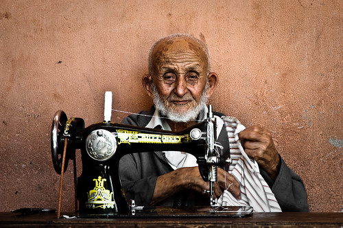 Streets of Marrakech: the old seamster | by Fabrice Drevon