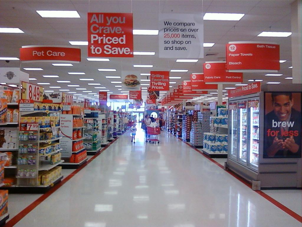 Super Target - Edina (Minneapolis), Minnesota - A look dow ... Super Target Bakery