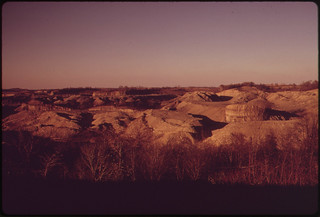Although This Land Was Stripped Twenty Years Ago, the Scars Remain, Off Route 9. 10/1973 | by The U.S. National Archives