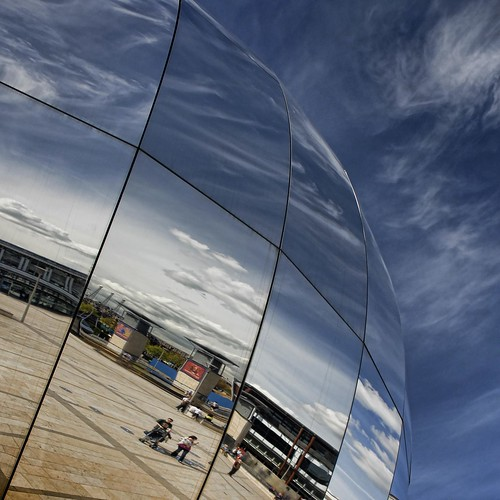 UK - Bristol - Millennium Square Reflections - sq | by Darrell Godliman