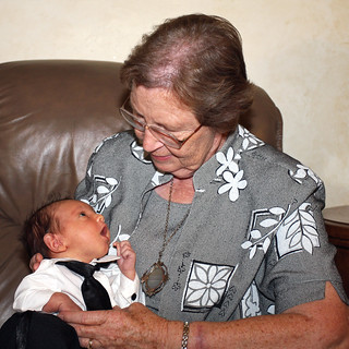 Great-grandmother with Newborn | by cobalt123