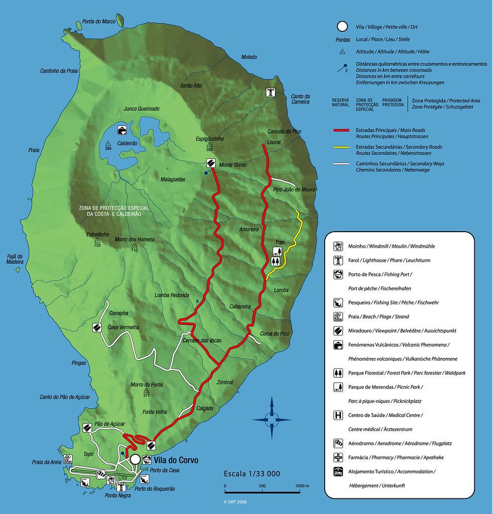 mapa da ilha do corvo Ilha do Corvo   Autor: .google.pt/search?hl=pt PT&q=mapa+…   Flickr mapa da ilha do corvo