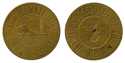 Hawaii 50th State coin_tatteredandlost | by tattered and lost attic