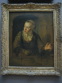 Jeune fille a la fenetre by jan victors 1620 1676 for Fille a la fenetre