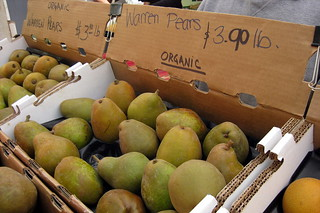 San Francisco - Embarcadero: Ferry Plaza Farmers Market - Warren Pears | by wallyg