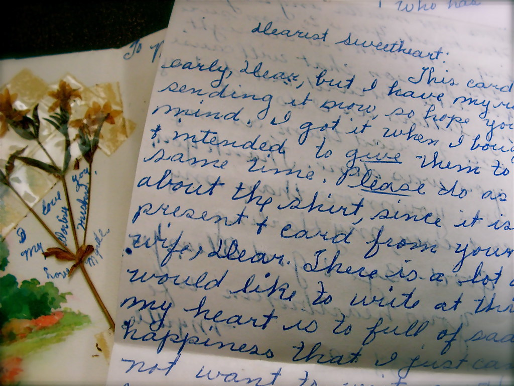 Break Up Letter From A Wife To Her Husband Dated June 12 Flickr