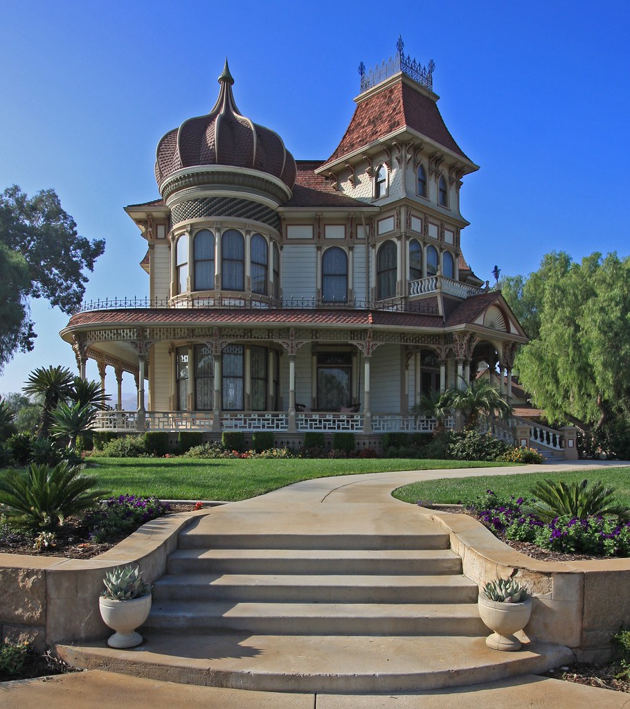 Scary Places In Riverside Ca: The Morey Mansion, In Redlands