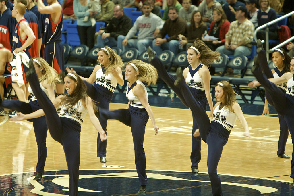 Penn State Dance Team The Penn State Lionettes Dance
