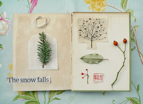 the snow falls | by wild goose chase